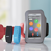 bluetooth activity tracker with phone armband by xtreme