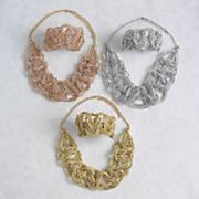 glass bead woven jewelry