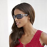 rhinestone cutout sunglasses