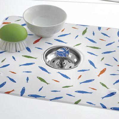 Fish Sink Mat & Strainer