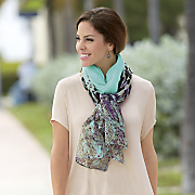 Colorful Animal Scarf