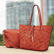 2-Bags-In-1 Satchel & Tote