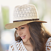 lace crown fedora