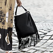Hobo Bag with Fringe