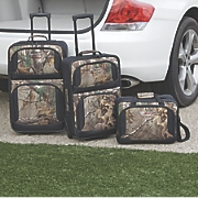 3 pc  camouflage luggage set
