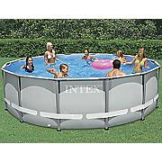 ultra metal frame pool by intex