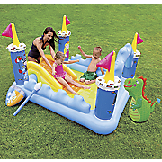 fantasy castle play center by intex