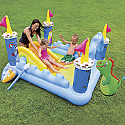 fantasy castle play center by intex
