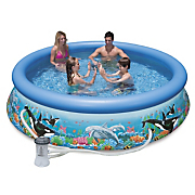 aquarium pool by intex