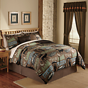 Great Outdoors Complete Bed Set, Pillows and Window Treatments