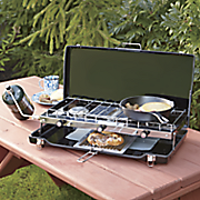 ultima deluxe 2 burner grill stove by century