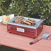 tabletop charcoal grill by coleman