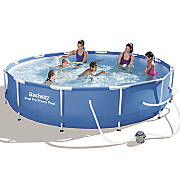 steel pro metal frame pool by bestway