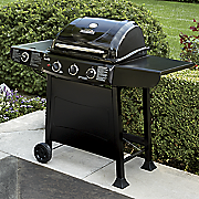 3 burner gas grill by char broil