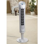 quietset whole room tower fan by honeywell