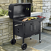 black dog charcoal grill by landmann