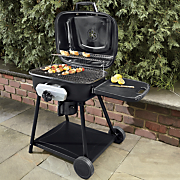 deluxe outdoor charcoal grill by uniflame