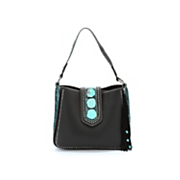 mara stud accented hobo bag