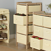 4 basket tall storage unit