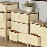 6 basket wide storage