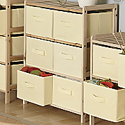 6 basket wide storage