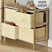 4 basket short storage unit