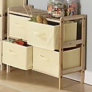 4 basket short storage unit