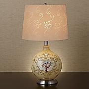 floral bouquet lamp