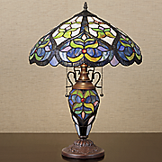 stained glass elegance lamp
