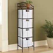 4-Drawer Organizer Storage Tower