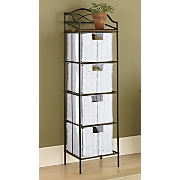 4 drawer organizer storage tower