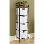 4 drawer organizer storage tower