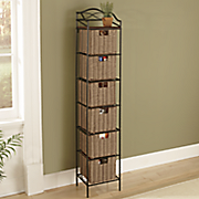 6 drawer organizer storage tower