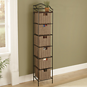 6-Drawer Organizer Storage Tower