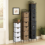 organizer storage drawer towers