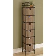 6 drawer organizer storage tower