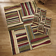 morgan 3 pc  rug set