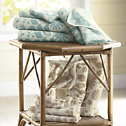 6-Piece Flora Jacquard-Patterned Towel Set
