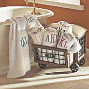 Monogrammed Hand or Bath Towel