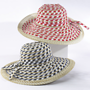 Patterned Hat by Isaac Mizrahi