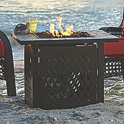 firetable with slate mantel