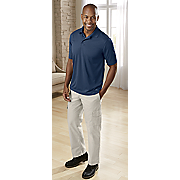performance cooling polo and rip stop cargo pant by dickies