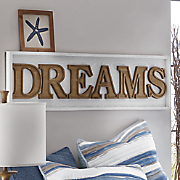 dreams wall plaque