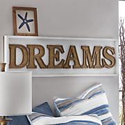 dreams wall plaque