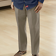 flat front khaki pant by dickies