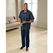 Classic Linen-Blend Pant Set by Silversilk