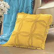 Colorful Chenille Pillow