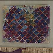 Purple Filigree Canvas