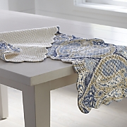 nazima valance  runner and place mats