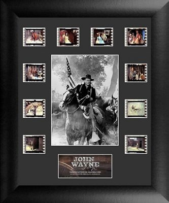 John Wayne American Hero Framed Film Cell Montage